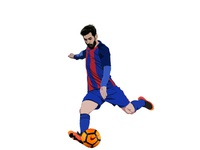 Messi vector_ms
