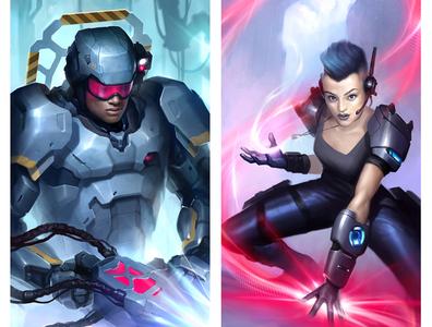 Cyborg and Operator