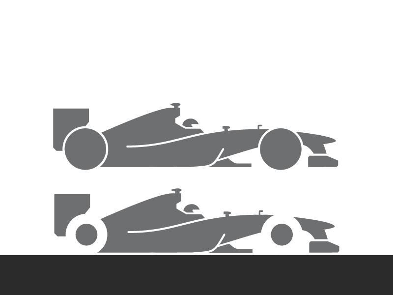Formula Silhouette By Jason Walley Dribbble - Minimal formula 1 posters jason walley