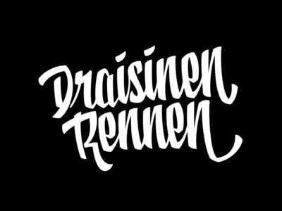 DR2 script font script lettering logo typography vector