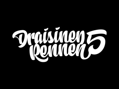 DR1 lettering script font script logo typography vector