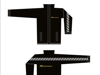 National Network Identity branding identity graphic design transport rail railway coat uniform