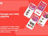[UX RE-DESIGN] - Kulina [Book Daily Catering]