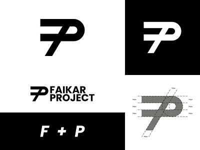 FaikarProject Personal Brand - Logo Design design vector illustration logo personal branding brand grid logo monogram logo lettermark letter designer logos logotype bold wordmark monogram branding personal brand logo design