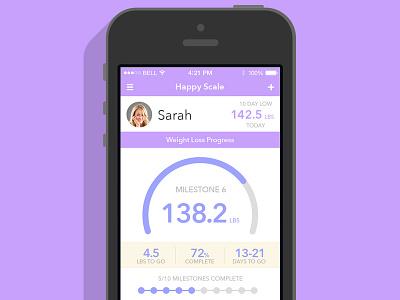 Happy Scale app iphone ios