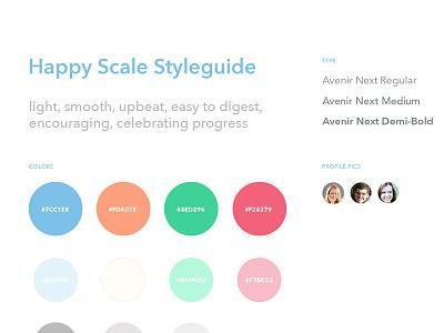 Happy Scale Styleguide ui app styleguide