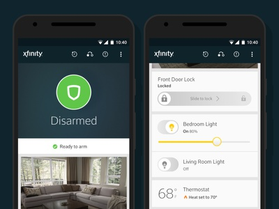 Xfinity Home for Android  home security smart home xfinity android