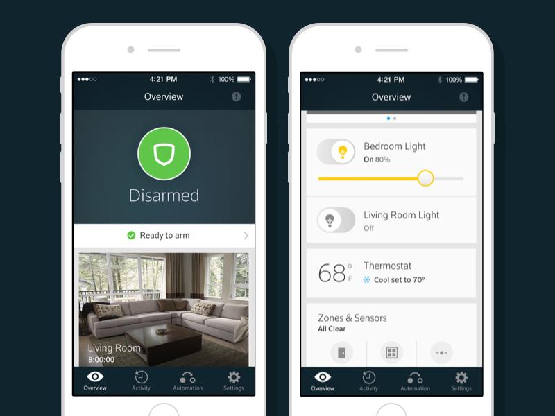 Xfinity Home For Ios By Camden Asay Dribbble Dribbble