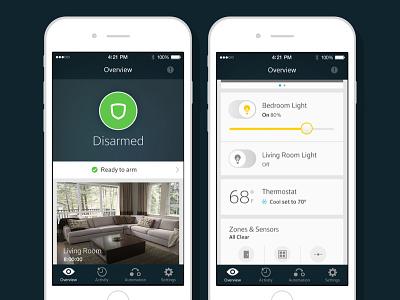 XFINITY Home for iOS home security smart home xfinity ios