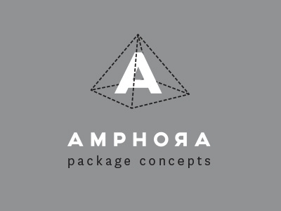 Amphora Package Concepts white black grey amphora a identity logo packaging