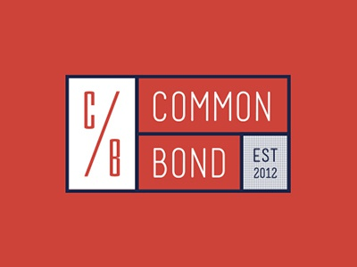 CommonBond.co Rebrand Pitch logo corporate identity student loan interest branding finance blue orange