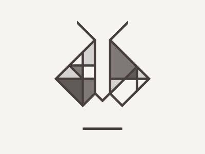 Personal Branding Update grey moth geometric designer personal logo branding