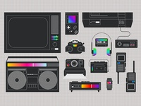 Ay yes, the 80s! A Gadget Pack