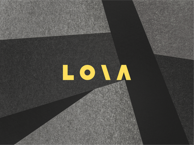 L O \ A behance project behance portfolio figma design figma light yellow yellow logo yellow branding and identity brand identity brand design branding personal branding personal brand personal logo logo design logo