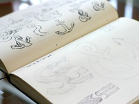 Anchor Ampersand Sketches