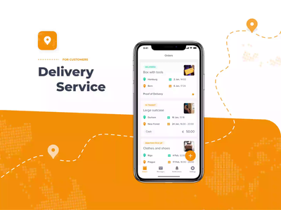 Delivery Service | Customer App