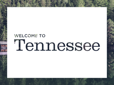 Tennessee typography photography minimal tennessee