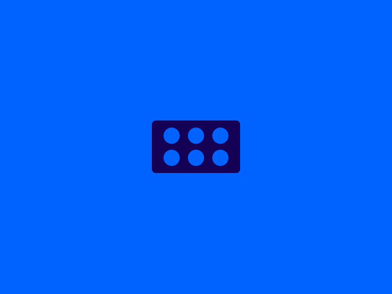 Plate plate lego minimal logo branding