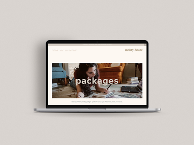Packages Landing Page