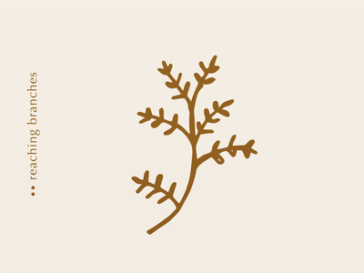 Simple Branches Illustration