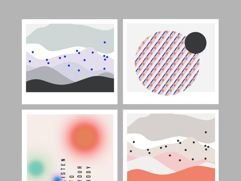 Colour/mood sketches for a digital brand pattern visual  identity data visualisation branding mood palette
