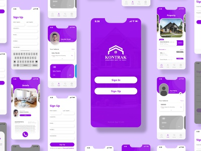 UIDAILY | Rental a house mobile apps uidesigner uidaily illustration designgraphic adobe xd ux design design simple design uidesign ui dashboard ui