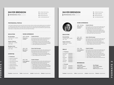 Resume Set resume clean resume professional portfolio modern resume modern minimalist letter infographic feminine female resume female elegant resume elegant design cv clean a4 3 page 2 page