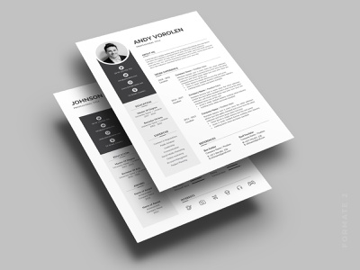 Resume photoshop resume minimal professional resume clean resume docx modern resume creative resume elegant clean elegant resume
