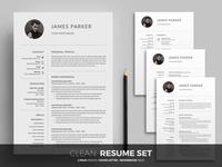 Clean resume set