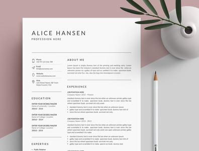 Resume/CV - Clean