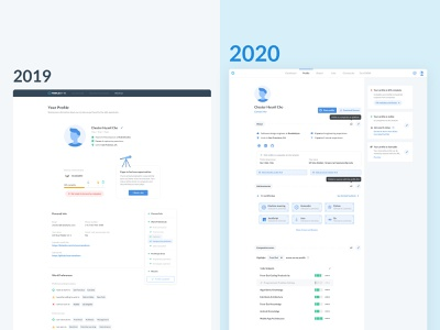 Triplebyte Candidate Profile update coming soon! product design renewal responsive layout 2d profile product ux ui candidate hiring design recruiting software engineer