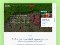 Croptrust.org redesign