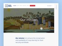Croptrust Website - Mission page