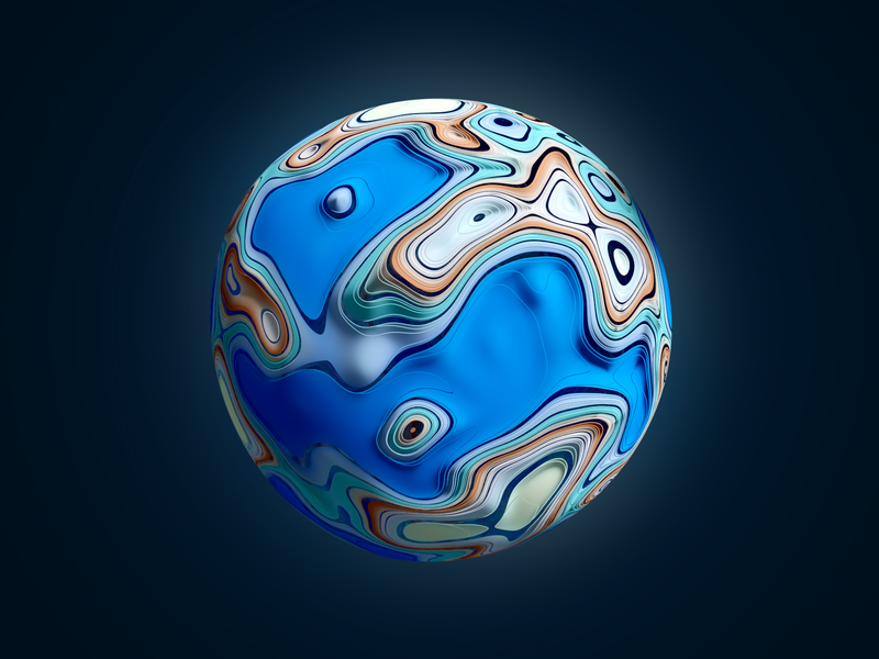 tiny planet 3d procedural earth sky space planet tiny