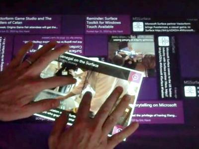 SocialStream for Microsoft Surface v1