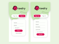 Daily UI - Day 1: Onboarding / Signup page