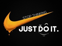 Stop Thinking - Just Do It | PS with Wacom Design