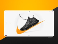Nike Shoe Interface Design