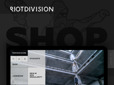 RIOTDIVISION/ Web Shop