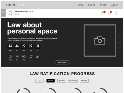 Law Communication Platform_UX+UI