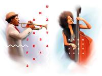 Baku Jazz Fest 2014 / Logo / Pre-sale