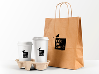 FEE DE CAFE / Logo and identity restyling. For local brand