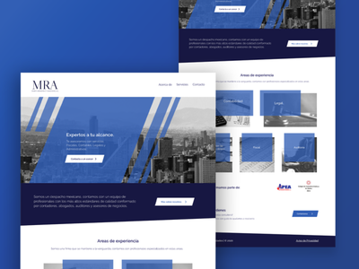 Website Design for Legal & Accounting Firm Mareva Redonda. user interface uidesign accounting law desktop website design web design website