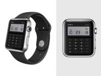 Casio Inspired Calculator Watchface