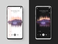 Music Player -  Light/Dark Mode