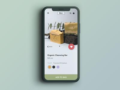 E-Commerce Shop (Single Item) apps design app product page ecommerce app ecommerce user interface uidesign ui design dailyui 012 dailyui