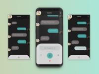 Direct Messaging - Speech to text