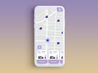 Location Tracker  - Car Sharing Concept App