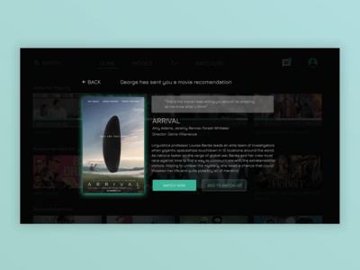 Smart TV App (Message)