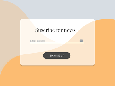 Subscribe dailyui 026 daily ui interface design design user interface uidesign ui dailyui